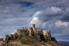 Spis castle in Slovakia Stock Photos