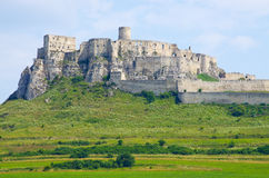 Spis Castle, Slovakia. Spis Castle ruins located in Slovakia stock images