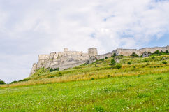 Spis Castle, Slovakia. Spis Castle ruins located in Slovakia royalty free stock photo