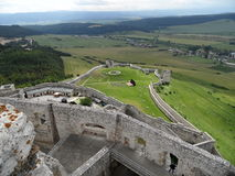 Spis castle, Slovakia royalty free stock images
