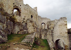 Spis Castle, Slovakia. Spis Castle, Spishsky Hrad fortress ancient medival ruins in Slovakia royalty free stock photo