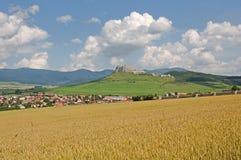 Spis castle  , Slovakia Stock Photos