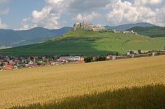 Spis castle  , Slovakia Stock Image
