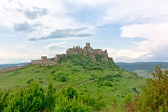 Spis castle royalty free stock photos
