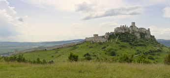 Spis castle royalty free stock images
