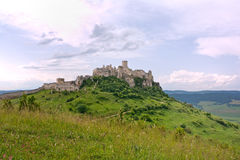 Spis castle stock photos
