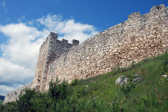 Spis Castle (Spissky hrad), Slovakia. Spis Castle (Spissky hrad) is one of the largest castle compounds in Central Europe stock photos