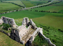 Spis Castle (Spissky hrad), Slovakia royalty free stock images