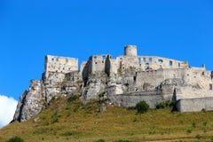 Spis Castle Spissky hrad, Slovakia Stock Photography