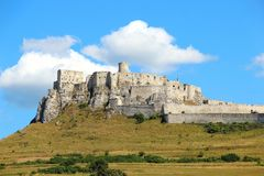 Spis Castle Spissky hrad, Slovakia Royalty Free Stock Image