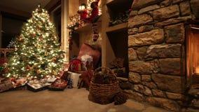 Spis och julgåvor arkivfilmer