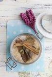 Spised bruine suiker Royalty-vrije Stock Fotografie