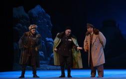 """Spisek """"Taking Tygrysiego Montain Strategy† Peking opera zdjęcie royalty free"""