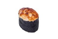 Spisi-Sushi mit Lachsen Stockbild