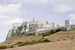 The Spisky Castle in Slovakia Royalty Free Stock Image