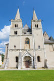 Spisska Kapitula - Saint Martins gothic cathedral from west. Royalty Free Stock Photography