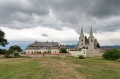 Spisska Kapitula, Slovakia. St. Martin's Cathedral in Spisska Kapitula, Slovakia royalty free stock image