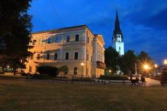 Spisska Nova Ves em Eslováquia Imagens de Stock Royalty Free
