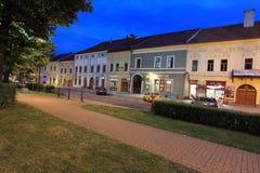 Spisska Nova Ves at night Stock Photo