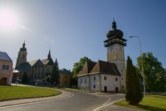 Spisske Vlachy, Σλοβακία Στοκ εικόνες με δικαίωμα ελεύθερης χρήσης