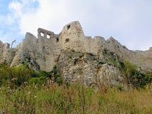 Spissky城堡斯洛伐克ser 3 免版税库存照片