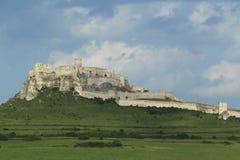 spissky的城堡 免版税图库摄影