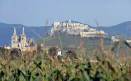 Spissky castle. Chapter Spisska and Spissky Castle, Slovakia royalty free stock photography