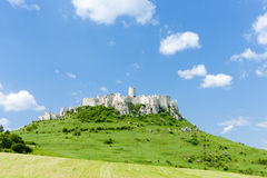 Spissky Castle Royalty Free Stock Photo