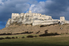 Spissky Castle Stock Photography
