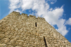 Spissky castle - Look from middle courtyard Royalty Free Stock Photography
