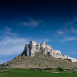Spissky Castle, Slovakia Royalty Free Stock Photos