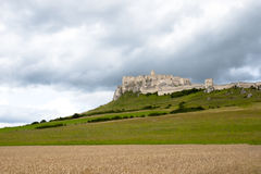Spissky Castle - Slovakia Royalty Free Stock Images