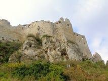 Spissky Castle-Slovakia ser.2 Stock Photo