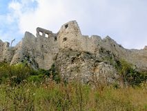 Spissky Castle-Slovakia ser.3 Royalty Free Stock Photos