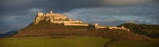 Spissky hrad,联合国科教文组织,斯洛伐克 库存图片
