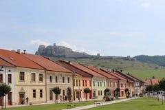 spissky hrad arkivbilder