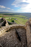 Spissky hrad - castle Stock Photos
