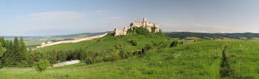 Spissky hrad castle Stock Images