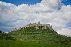Spissky hrad castle in Slovakia, Stock Photos