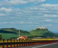 Spissky hrad castle, Slovakia royalty free stock photos