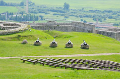 Spissky Hrad castle, Slovakia Royalty Free Stock Image
