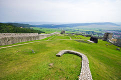 Spissky Hrad castle, Slovakia Royalty Free Stock Photography