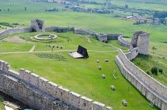 Spissky Hrad castle, Slovakia Royalty Free Stock Photography
