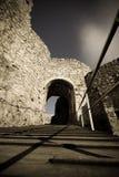 Spissky hrad - Schloss lizenzfreies stockfoto