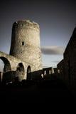 Spissky hrad - Schloss stockbilder