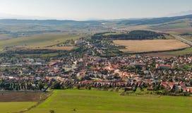Spissky Hrad in Slovacchia Fotografie Stock