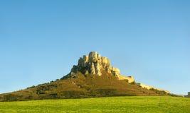 spissky slott Arkivbild