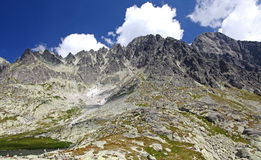 5 Spisskych plies  - tarns in High Tatras, Slovakia Stock Photography