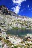 5 Spisskych plies - tarns i höga Tatras, Slovakien Royaltyfria Foton