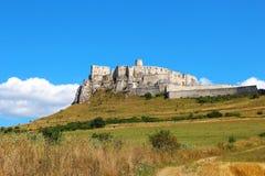 Spisu kasztelu Spissky hrad, Sistani Zdjęcia Royalty Free